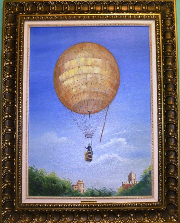 4-america-balloon-1899-balloon-more-modern-than-brazil-he-wore-when-he-landed-in-distant-places-and-pedaled-looking-for-someone-who-could-help-carry-the-balloon-back-to-paris