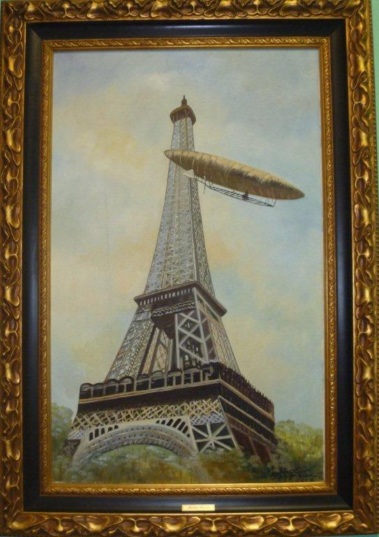 5-santos-dumont-rounding-the-eiffel-tower-with-the-airship-number-5-on-july-13-1901