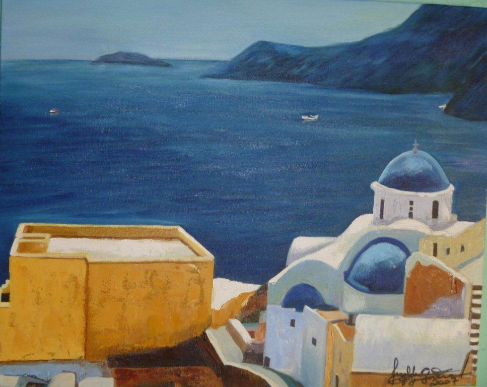 34-a-radiant-evening-in-santorini