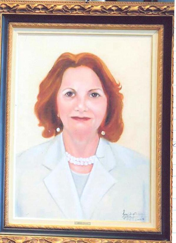 Location: Collection in the Department for Military Affairs, São Paulo, Portrait: Judge Auditor Telma Angelica Fiqueredo.