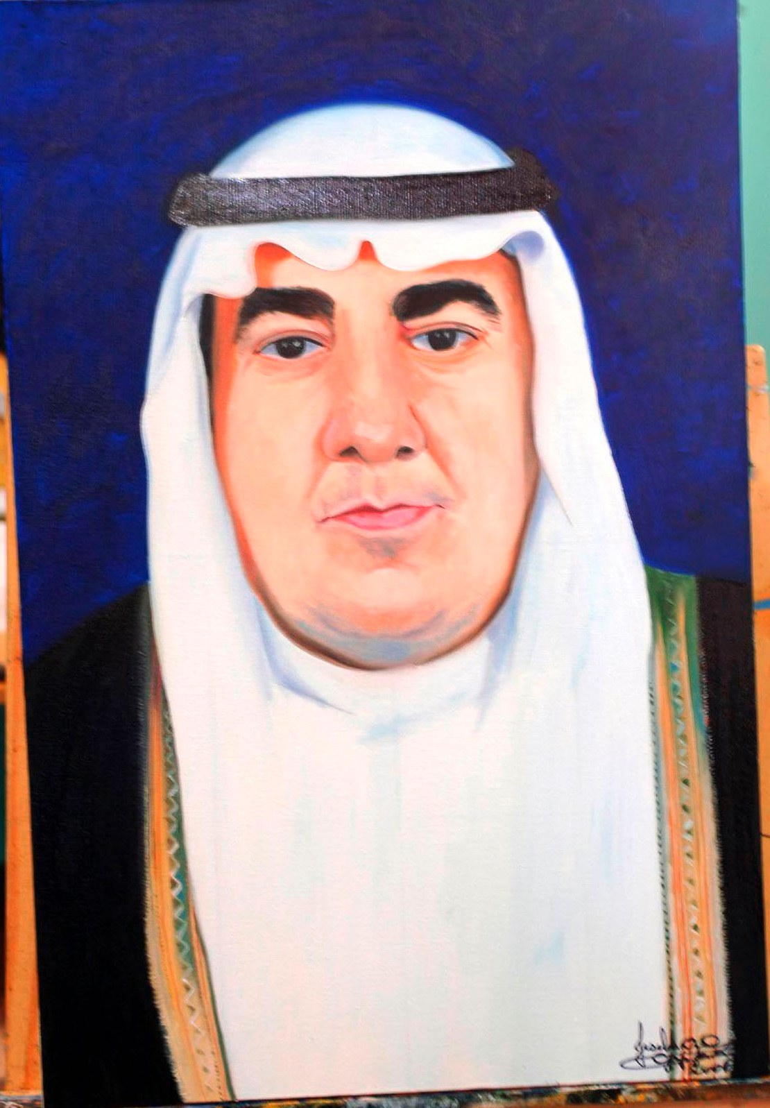 Location; Private Collection in Bahrein –Arabian Aziz