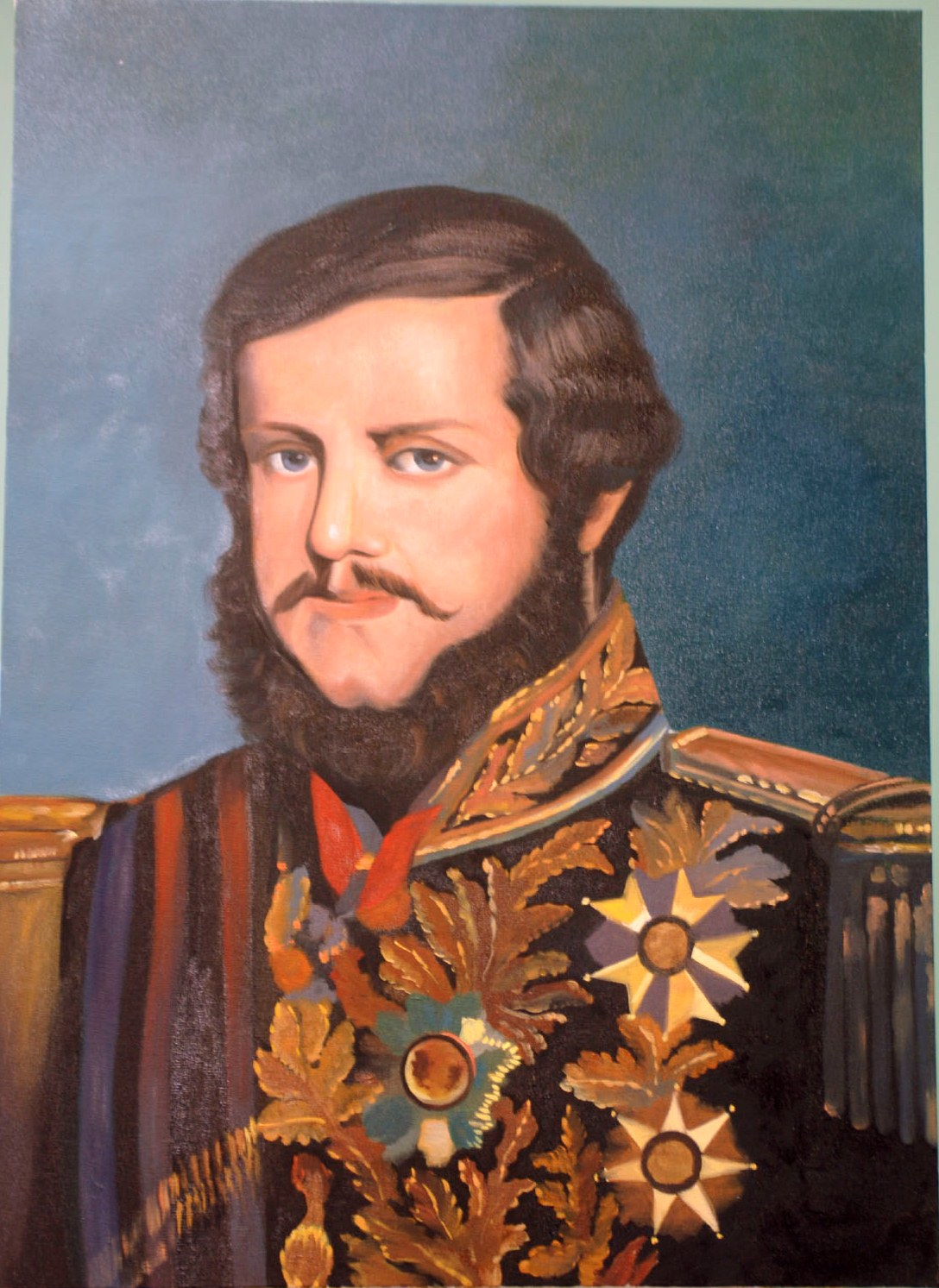 Collection:Privat Colletion of the Museum Araçariguama S.Paulo- Imperador D.Pedro II